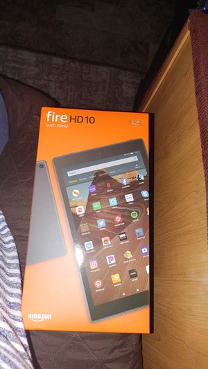 Kindle Fire HD10 with Alexa for Sale in Gresham, OR