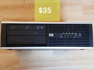 HP 6000 Pro Desktop Computer PC Intel E7500 2.93 GHz 4GB RAM Windows 7 Pro for Sale in Seattle, WA