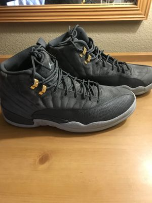 Air Jordan 12 retro grey size 12 for Sale in St. Louis, MO