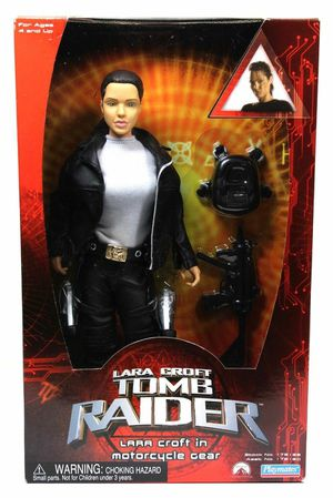"2001 Playmates Tomb Raider Lara Croft in Motorcycle Gear 12"" - New in Box! for Sale in Kent, WA"