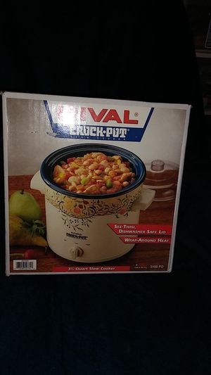 Rival Brand New Slow Cooker for Sale in Baltimore, MD