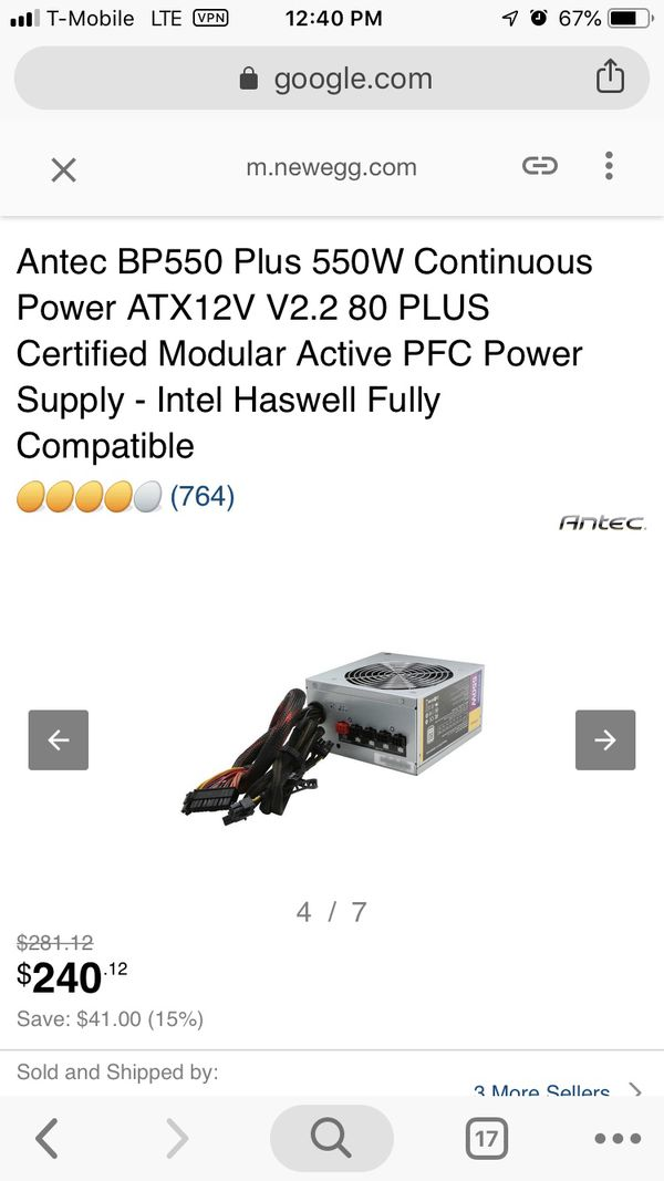 550w continuous power offer me