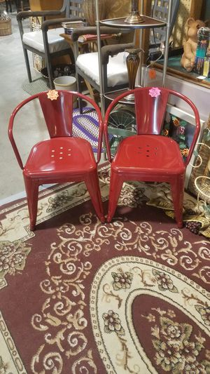 Metal Kid's Chairs for Sale in Winterville, NC