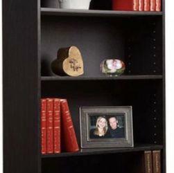 Brand New Contemporary Oak Black 4 Shelf Bookshelf Bookcase Organizer Display Console for Sale in Dunwoody, GA