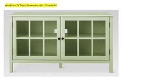 Windham Tv Stand Green Garnish by Threshold for Sale in Pembroke Park, FL