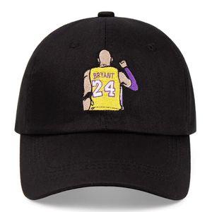 Kobe Black Mamba No. 24 cotton embroidery baseball cap Snapback unisex sun hat casual hat basketball outdoor caps for Sale in Dallas, TX