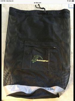 AKONA Mesh Backpack Scuba Dive Gear Bag FREE Diving Fins snorkeling Front Pocket for Sale in Jacksonville,  FL