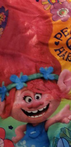 Trolls Sleeping Bag W/pillow for Sale in Auburn,  WA