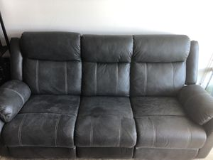 Recliner sofa and Love seat from Jeromes for Sale in San Diego, CA