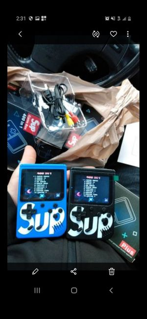 NEW GAMEBOY SUP 400 GAMES INCLUDED (delivery service no extra charges) for Sale in Downey, CA