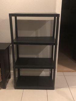 3 Tier Black Heavy Plastic Storage Shelf System for Sale in Miami,  FL