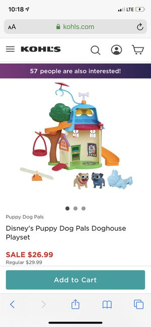 Puppy dog pals dog house for Sale in Downey, CA