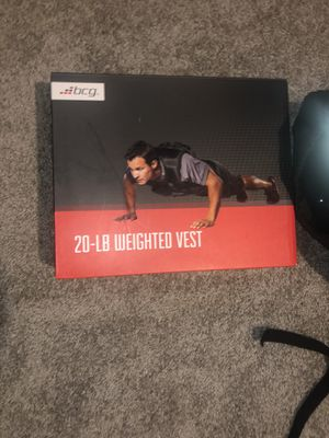 20-LB WEIGHTED VEST for Sale in Pasadena, TX
