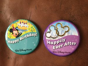 Disney Celebration Buttons for Sale in Ijamsville, MD