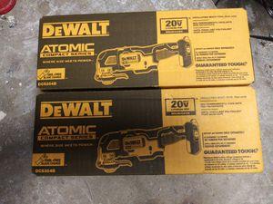 Two qty DeWalt atomic oscillating tools new dsc354b for Sale in Houston, TX