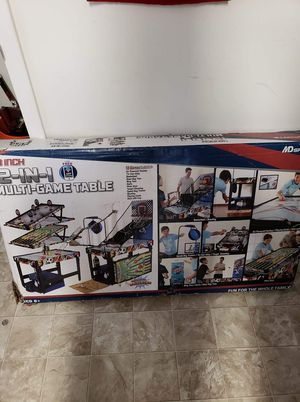12-in-1 game table for Sale in Chesapeake, VA