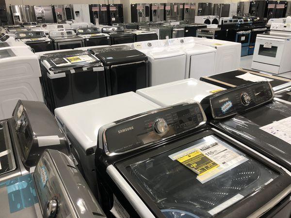 Brand New Dryer Steam Front Load Gas w/ Warranty 😀 Select Appliance