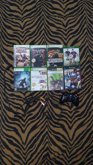 Multiple Xbox 360 & Gamecube games,Xbox 360 controller and Gamecube tv input for Sale in Dearborn, MI