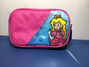 Nintendo DS Super Mario Carrying Case Princess Peach Pink Game Storage for Sale in Miami, FL
