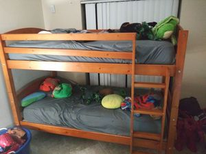 Wooden Bunk bed for Sale in Boca Raton, FL