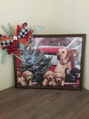 Light up Christmas picture 11x14 for Sale in Evansville, IN