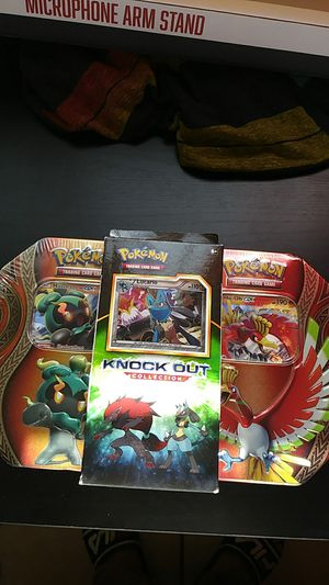 Sealed Pokemon tins and collection box for Sale in San Diego, CA