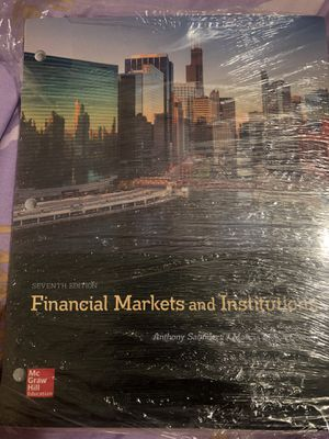 Financial Markets and Institutions 7th edition for Sale in Nashville, TN