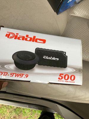 Diablo tweeters for Sale in Dallas, TX