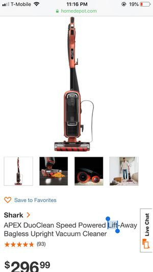Shark vacuum for Sale in Bronx, NY