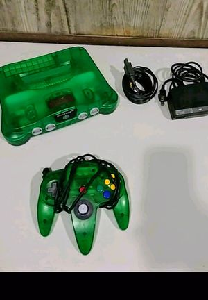 Used, N64 game console with one control & expansion pack for Sale for sale  North Bergen, NJ