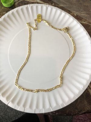 """20"""" Gold Plated Mens Mariner Chain for Sale in Parkville, MD"""