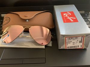 Authentic Ray Ban RB3449 Gold (001/2Y) 59/14-135 for Sale in Naperville, IL
