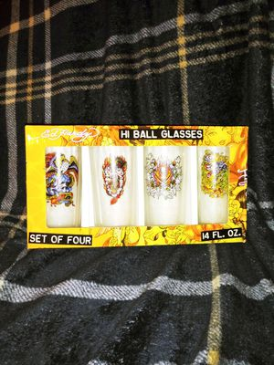 ED Hardy Collectable Glasses for Sale in Las Vegas, NV