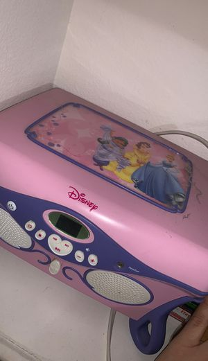 Disney princess CD player and jewelry box for Sale in Fontana, CA