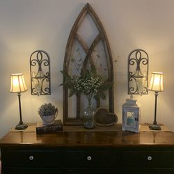 Pair Wrought Iron Wall Sconces for Sale in Monroe,  WA