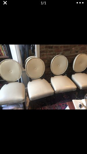 4 Pier 1 import ivory chairs for Sale in New York, NY
