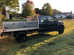 2008 Ford F450XL W Aluminum Flat Bed for Sale in North Haven, CT