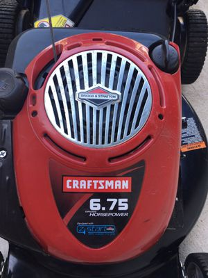 Craftsman self propelled lawn mower with bag for Sale in Fairfax, VA