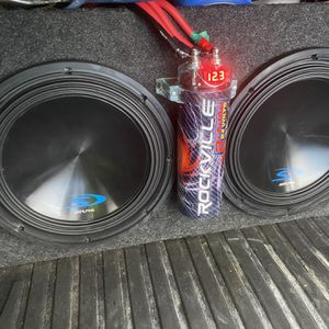 "Subwoofer Alpine 12"" 2400 watts, Amplifiers JL Audio for Sale in Germantown, MD"