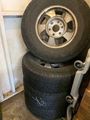 Chevy Tahoe stock tires and rims for Sale in Joint Base Lewis-McChord, WA