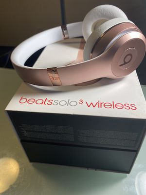 beats solo 3 wireless rose gold for Sale in West Chicago, IL