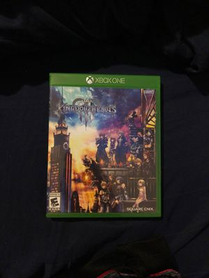 Kingdom Hearts 3 for Xbox One for Sale in Upper Marlboro, MD