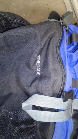 North face renegade backpack. Great for hiking! for Sale in Phoenix, AZ