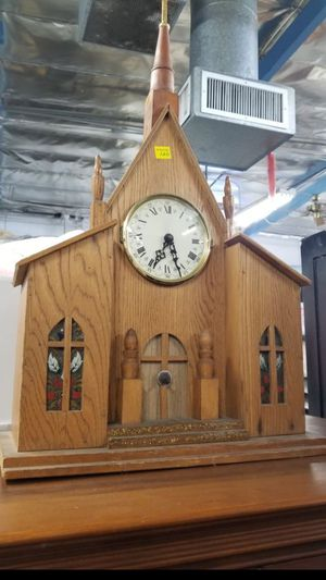 Antique wooden church clock rare for Sale in Garden Grove, CA