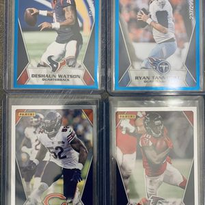 Panini Football Blue Parallel And Silver Parallel Short Print Football Cards for Sale in Vista, CA