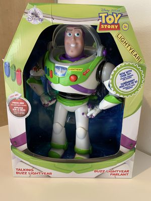 Disney Toy Story Buzz Lightyear Talking Action Figure for Sale in Montclair, CA