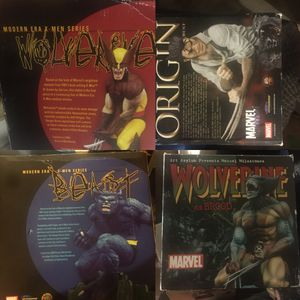 X-Men collectible statues and toys and comic book for Sale in Oakley, CA