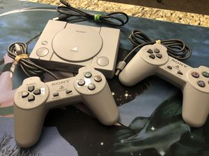 PlayStation Classic w/ 2 Controllers for Sale in Mesa, AZ