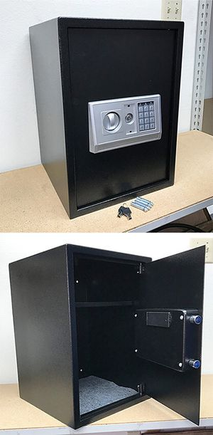 """(NEW) $85 Large 14x14x20"""" Digital Security Safe Box Electric Keypad Lock w/ Master Key for Sale in South El Monte, CA"""