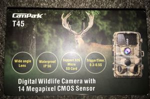 Brand new never used CAMPARK T45 TRAIL CAMERA for Sale in Federal Way, WA